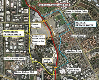 CT Closure Map