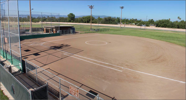 Santa Clara softball field