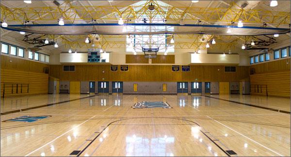 Santa Clara basketball court